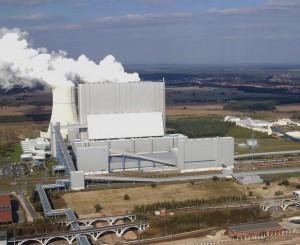 Vattenfall-Kraftwerk in Schwarze Pumpe