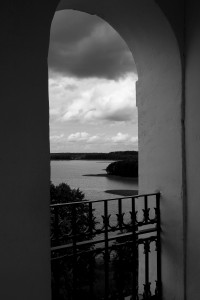 Wigry- das kloster und der See